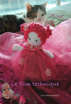 rag doll - free pattern