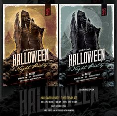 Halloween Party by DesignWorkz on @creativemarket