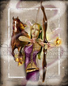 Sagittarius by MysticMoonMedia.deviantart.com on @deviantART