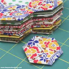 Free DIY English Paper Piecing Tutorial Series | The Zen of Making