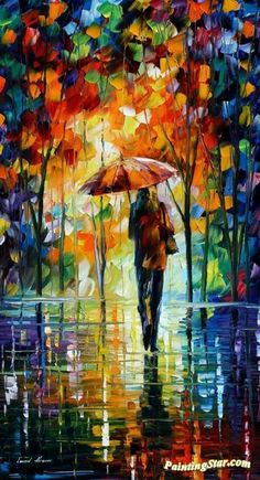 Toward love Artwork by Leonid Afremov