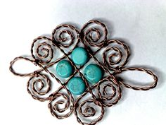 JewelyLessons  Twisted Wire Pendant with variations