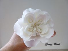 David Austin Rose my way (Easy, Quick and inexpensive, using mostly 2 round cutters) - by Gulnaz Mitchell (heavenlycakes4you) @ CakesDecor.c...