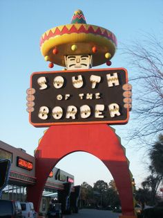 """It's Pedro!  If you've ever driven I-95 through NC/SC, you know South of the Border, and how could you not?  As they say, """"You Never Sausage a Place!""""  Fireworks, anyone?"""