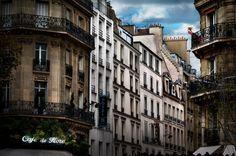 Red Dress in Paris #DavidDrebbin (2000×1329)