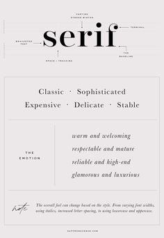 How to Choosing Font Combinations and Font Pairings Based on your Brand Style. Pairing Fonts for your brand and website, website font pairings, understanding font combinations, brand styling, brand fonts, logo font pairing, saffron avenue