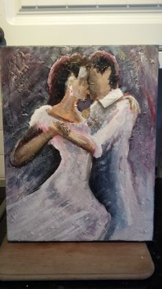 We belong to you and me - in acrylics by Garry Walker artist