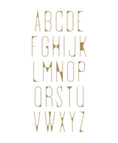 Hour glass font on Behance