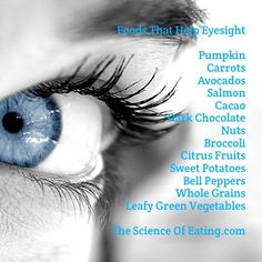 Foods The Help Eyesight