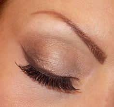 Natural smokey eyes - Brown palette