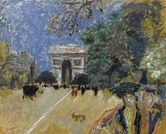 Pierre Bonnard - L'ARC DE TRIOMPHE (ESQUISSE),...