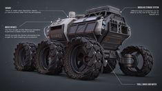 ArtStation - The Mars Ranger, Mathew O