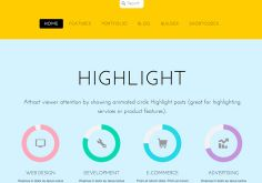 Flat A Creative, Hot & Trendy Design Responsive WordPress Theme By Themify