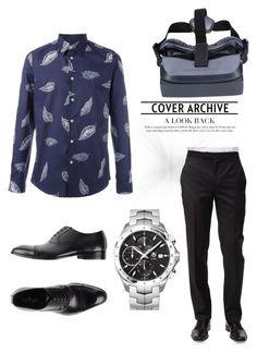 """man's fashion"" by april2635565 ❤ liked on Polyvore featuring Paul Smith, Ermenegildo Zegna, Ciro Lendini, TAG Heuer, men's fashion and menswear"