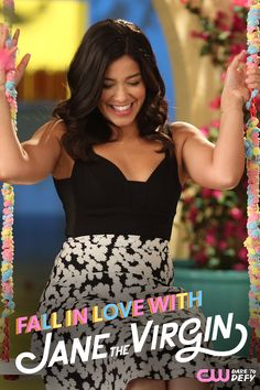She'll warm your heart, make you smile, and take your breath away! Fall in love with Gina Rodriguez all over again when the new season of Jane The Virgin premieres Monday, October 12, 2015 at 9/8c on The CW.