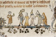 14th century english illumination - Google Search
