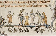 14th century english illumination - Google Search