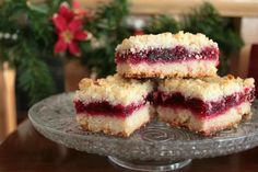 Cranberry Bars are rich, buttery and so easy to make. Perfect for the holidays and a great way to use up any leftover fresh cranberries or cranberry sauce. Cranberry Bars, Cranberry Recipes, Holiday Recipes, Cranberry Sauce, Christmas Recipes, Cranberry Bread, Cranberry Muffins, Cranberry Cookies, Rhubarb Recipes