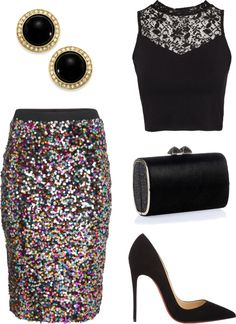 The color palette: New Years Eve outfit ideas