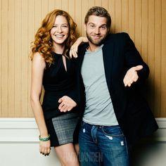 Rachelle Lefevre & Mike Vogel