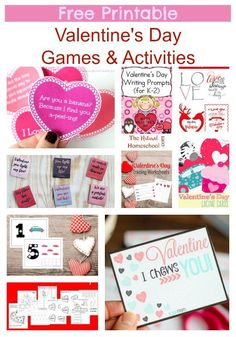 This is an awesome list of posts that bring you beautiful advice to make Free Printable Valentine's Day Games & Activities a wonderful experience. Include your children in the reading. What do they think?