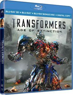Ter compensatie voor het wat tegenvallende verhaal heeft de Blu-ray van Transformers: Age of Extinction maar liefst 3 uur (!) extra beeldmateriaal en making-off filmpjes. #Transformers #MichaelBay