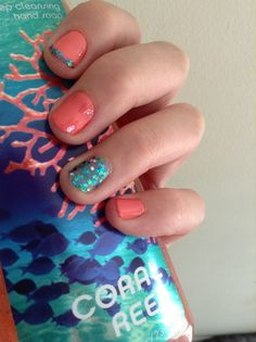 Under the sea nails :)