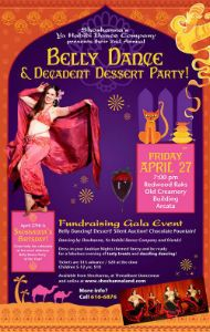 Belly Dance and Decadent Dessert Party, April 27