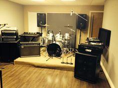 Rehearsal room @Ubpstudios