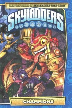 J GRA MAR. Marvel as your favorite characters face grueling tests, outrageous challenges, and the vilest of villians to gain champion status! Deja Vu, Jawbreaker, Trigger Happy, and Blades all get the spotlight in this volume featuring more great stories from the world's first ever Skylanders comic book series.