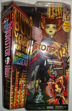 "Monster High, Boo York, Boo York - Gala Ghoulfriends - Luna Mothews fashion doll. Монстр * Монстр Хай, кукла Луна Мотьюс из Монстрического Мюзикла Бу-Йорк, Бу-Йорк серии ""Бу-Йорк, Бу-Йорк: Праздничные МонстроДрузья"""