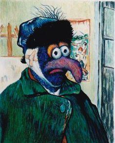 van Gogh + Gonzo = van Gonzo