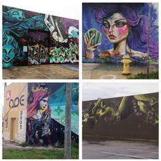 Doesn't matter if it's in a museum, a high end gallery, or street art, there's something here for everyone.  #wynwood #wynwoodwalls #miami #Ariche
