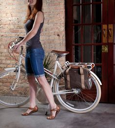 Having an old school bike will be great for the summer. Having a cool bike bag will be great for life.