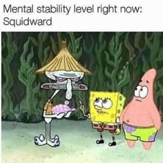 """22 Relatable Spongebob Memes That Just Speak The Truth - Funny memes that """"GET IT"""" and want you to too. Get the latest funniest memes and keep up what is going on in the meme-o-sphere. Squidward Meme, Funny Spongebob Memes, Cartoon Memes, Dankest Memes, Funny Memes, Jokes, Depression Memes, Speak The Truth, Spongebob Squarepants"""