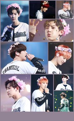 Exo/Chanyeol flower crown