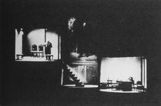 Scene from Le théâtre Alfred Jarry et l'hostilité publique directed by Antonin Artaud, 1927.