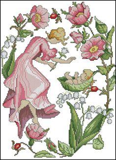 Hadas de las Flores - Febrero