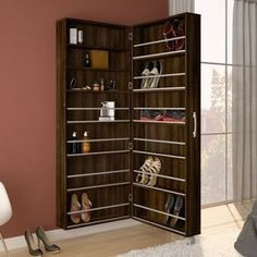 Schuhablage 17 Brilliant Shoes Storage ideas on a budget The Shoe Storage Design, Shoe Cabinet Design, Closet Shoe Storage, Shoe Storage Cabinet, Rack Design, Shoe Storage Ideas Bedroom, Shoe Drawer, Shoe Storage Solutions, Best Shoe Rack