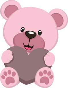 Pink Baby Bear - Minus
