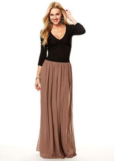 Faith Pleated Maxi Skirt - View All Skirts - Skirts - Clothing - Alloy Apparel