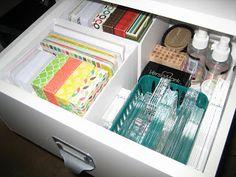 Hobbie Lobby: Craft Room Organization