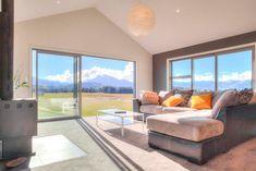 Northlake lounge with high raking ceilings...