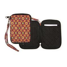 @WorldCrafts {Thai Wallet ~ Thai Country Trim ~ Thailand} Featuring an intricate purple-and-gold design, this lightweight, cotton wallet is perfect for carrying your license, phone, and other small items. It even has a wristlet for easy carrying! Thai Country Trim assists women in escaping from lives of brokenness to lives of healing and restoration. This wallet is great for everyday use and helps women in Thailand earn a living! #fairtrade #supportfreedom