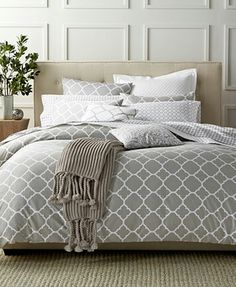 #Bedding #GreyWalls http://m.macys.com/shop/product/charter-club-damask-designs-geometric-dove-bedding-collection-only-at-macys?ID=2766412&pla_country=US&CAGPSPN=pla&CAWELAID=120156340006536098&CAAGID=15565565523&CATCI=pla-115832147283&cm_mmc=Google_Home_BedBath_PLA-_-Bed+%26+Bath+-+Comforters+-+GS_Charter+Club-_-45736092003-_-pg116812_m_kclickid_887fa918-1828-448c-8b0c-f3605940b34f&trackingid=438x116812&catargetid=120156340009110928&cadevice=m&gclid=CMWbvpDE8NECFVy4wAodM10LaA