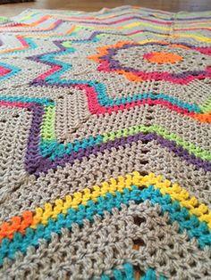 Transcendent Crochet a Solid Granny Square Ideas. Inconceivable Crochet a Solid Granny Square Ideas. Crochet Afghans, Afghan Crochet Patterns, Baby Blanket Crochet, Crochet Stitches, Crochet Baby, Knit Crochet, Crotchet, Crochet Cactus, Rainbow Crochet