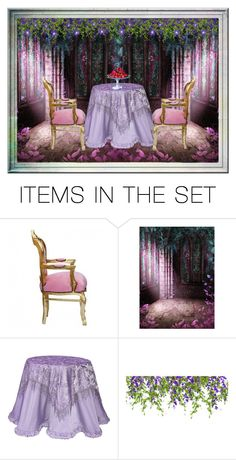 """""""Strawberries On My Table"""" by sjlew ❤ liked on Polyvore featuring art"""