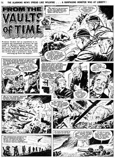 KNOCKOUT Nº 1240 (COMIC STRIP / TIRAS DE JORNAL) 1962_11