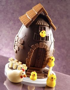 Receta para niños: Huevos de Pascua de chocolate
