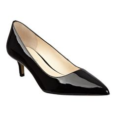 "Boutique 9 pointy toe pump. All leather upper with 2"" heel. This style is available exclusively @ Nine West Stores & ninewest.com."
